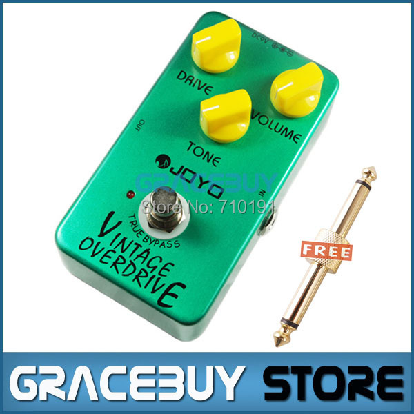 JOYO JF-01 Electric Bass Guitar Effect Pedal Vintage Overdrive DC 9V True Bypass Dynamic Compression<br><br>Aliexpress