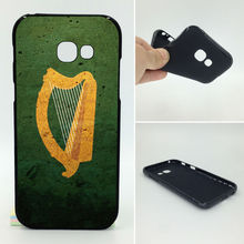 Coat of arms harp ireland Flag Phone Cases Soft TPU For Samsung Galaxy 2017 A5 A7 A3 J7 J5 J3 J2 Prime ON5 ON7 A320 A520(China)