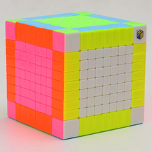 Brand New Yuxin Zhisheng Huanglong Stickerless 9x9x9 Speed Magic Cube Puzzle Game Cubes Educational Toys for Children Kids