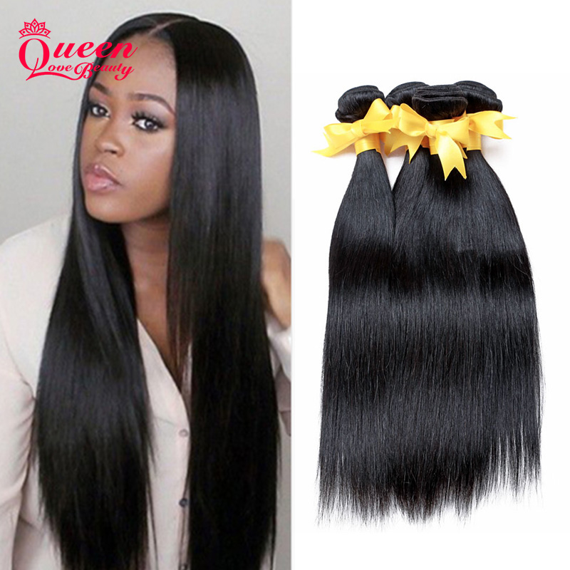 Indian Virgin Hair 4 Bundles Straight Human Hair Cheap Hair Products Indian Straight Unprocessed Natural color Hair weave<br><br>Aliexpress
