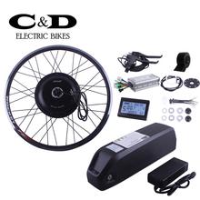 E-bike Electric Bike Conversion kit 48V1000W Driect Drive Motor MXUS brand 48V13AH Super Bottle Battery LED LCD Display Optional