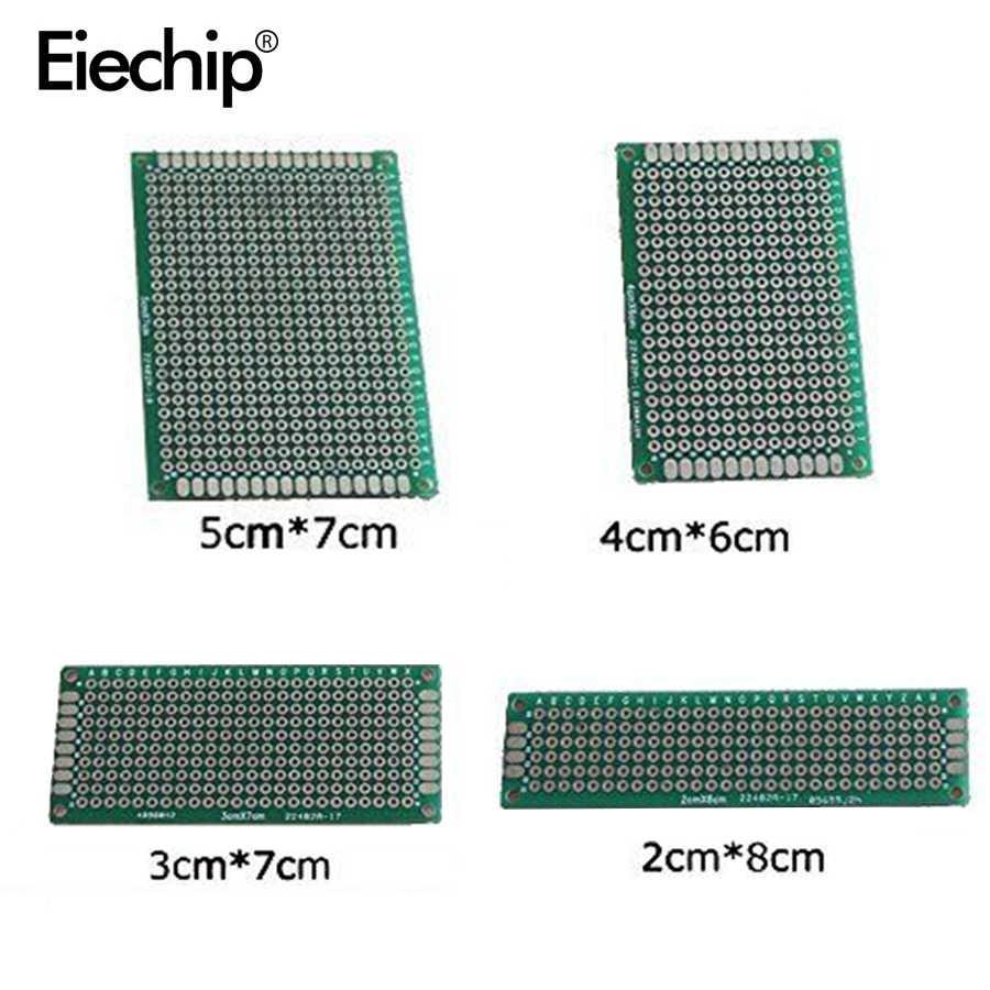 Detail Feedback Questions About 10pcs High Quality Double Side Diy 2pcs Breadboard Printed Circuit Panel Board Prototype 20pcs Lot 5x7 4x6 3x7 2x8cm Universal Electronics Pcb