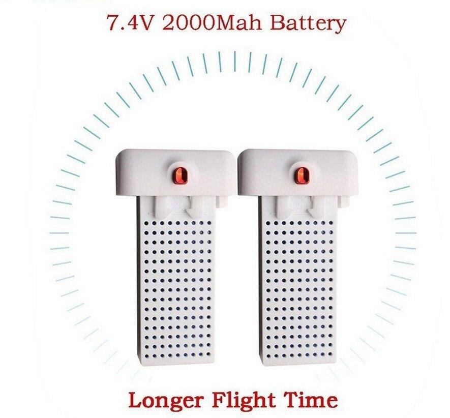 2PCS 7.4V 2000mAh lipo battery for syma X8SW X8SC RC Quadcopter drone Lithium Battery Quadcopter Drone<br>