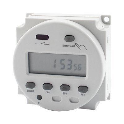 CN102 AC/DC 12V Programmable LCD Digital Display Timer Control Switch<br><br>Aliexpress
