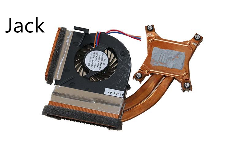The new Thinkpad laptop Radiator cooling fan integration T410s FRU 45M2680 Cooler Radiator Heatsink<br>