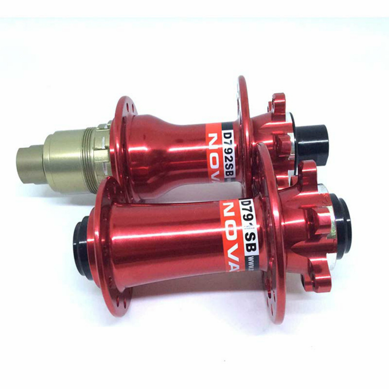 MTB Bicycle D791SB D792SB J-Hook Disc Red Hub 15x100mm 12x142mm thru axle for SHIMAN0 11S or Campy Bicycle Wheel Parts