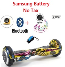 Hoverboard skateboard Samsung Battery adult electric scooter overboard smart balance board giroskuter skateboard eletric oxboard(China)