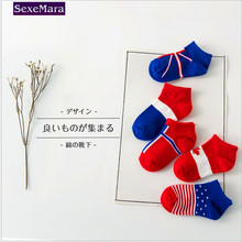 Children socks wholesale 2017 baby girls boys socks flag series children 's cotton socks