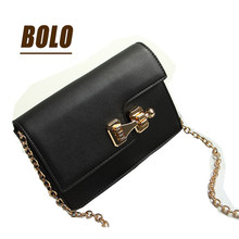 The new retro fashion shoulder bag wild handbags catch phone package small square bag Messenger bag