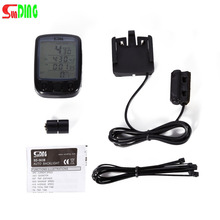 Waterproof bike computer LCD Display Cycling Bike Bicycle Computer Odometer Speedometer bisiklwith Green Backlight Hot Sale(China)