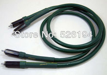 Free shipping Alpha FA-220 audio Interconnect RCA Cable with furuech RCA plug(China)