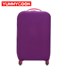 Elastic Solid Luggage Protective Cover Suitcase Storage Bag Organizer Dustproof Case Travel Wholesale Bulk Accessories Supplies