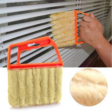 1pc Microfibre Plastic Brush for cleaning Windows Blinds Air Condition Brush Cleaner supplies Kitchen Cleaning Tools Accessories