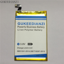 GUKEEDIANZI 100% New shark 1 Replacement Mobile Phone Battery 6000mAh High Capacity For LEAGOO shark 1 Li-ion Battery(China)