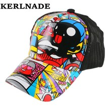 4-12 year boy girl kids lovely brand baseball cap heart character cartoon design custom children hip hop snapback hat casquette