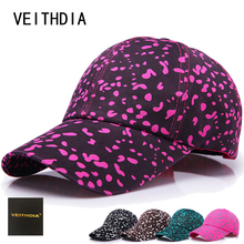 VEITHDIA new fashion ladies outdoor sunscreen cap spring summer sports baseball cap flower cloth sun hat 507