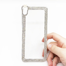 Buy Bling Diamond Cases Sony Xperia XA Z5 Premium C5 Ultra M4 Aqua Fundas Glittle Crystal Hard Clear Protective Phone Back Cover for $3.94 in AliExpress store