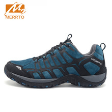 2017 Merrto Lovers Walking Shoes Outdoor Shoes Travel Shoes First Leather For Lovers Free Shipping MT18607/MT18608