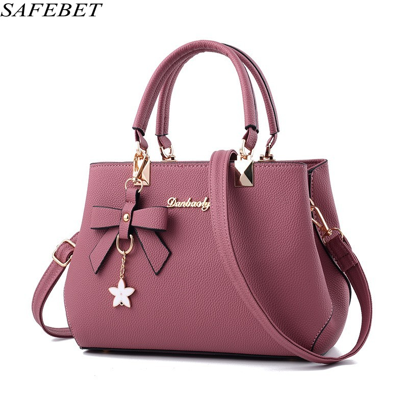 SAFEBET Brand Designer Handbags High Quality Women Bag Fashion Ladies hand bag  PU Leather Womens  Messenger Shoulder BagTote<br>