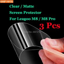 "3 Pcs/Lot For Leagoo M8 / M8 Pro 5.7"" New HD Clear / Anti-Glare Matte Front Screen Protector Touch Film Protection Skin(China)"