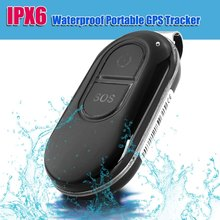 LK106 IPX6 12V Waterproof Mini Real-time EU/US Plug GPS Tracker SOS Alarm for Pet / Animal / Kids POST NL Free