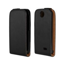 Luxury Genuine Real Leather Case Flip Cover Mobile Phone Accessories Bag Retro Vertical For HTC DESIRE 310 PS