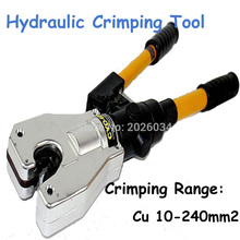 Hydraulic Crimping Tools Safety Hydraulic Hand Dieless Crimping Tool 10-240mm2 for Cable Wire Lug CYO-6B(China)