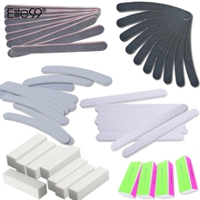 Elite99 13 Pieces/set Nail Sanding Files 4 Way Buffer Block Nail Art Block Professional Manicure Pedicure Care Tools Kit Set(China)