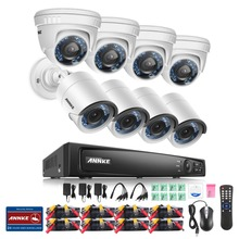 ANNKE  8CH 1080P Security DVR Recorder 8x HD 1920TVL 2.0MP 1080P HD-TVI Surveillance Cameras  System