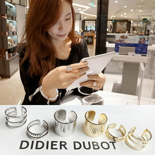 Buy 30 pieces/set Midi Knuckle Rings Set Gold Silver Multilayer Hollow Open Mid Finger Ring Women Punk Jewelry Adjustable for $6.37 in AliExpress store