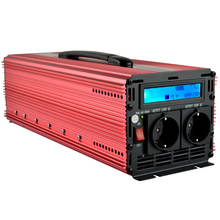12v inverter 220v 2500W(Peak 5000W) pure sine wave power inverter with LCD digital display