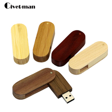 Flash drive saber model Rotate the wood usb flash drive gift pen drive Usb stick 4GB 8GB 16GB 32GB 64GB memory stick pendrive(China)