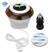 5V 1W Vehicle Air Purifier Mini Auto Car Fresh Air Anion Lonic Purifier In Addition To Formaldehyde Haze