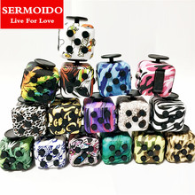 Buy SERMOIDO Mini Fidget Cube Toy Vinyl Desk Finger Toys Squeeze Fun Stress Reliever 3.3cm High Antistress Cubo A138 for $1.87 in AliExpress store