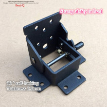 Free shipping locking folding hinge, desk and chair, stool table, tea table, folding hinge leaf, hardware furniture fittings