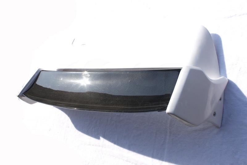 2008-2010 Subaru Impreza GRB STI Varis Style FRP Rear Spoiler with CF Blade (23)