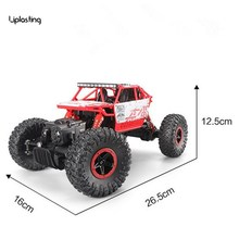 New RC Car 4WD 2.4GHz Rock Crawlers Rally climbing Car 4x4 Double Motors Bigfoot Car Remote Control Model Off-Road Vehicle Toy(China)