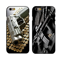 Hot Sale Nice Weapons Rifle Guns fashion cell phone case for iphone 4 4s 5 5s  SE 6 6s 6 plus 6s plus 7 7 plus