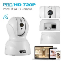 SANNCE HD 720P Wireless Home Security CCTV Camera 720P IP Camera baby Monitor Easy Setup Home Remote Monitoring System