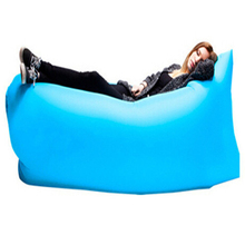 Large Size 2.5M*0.75M Inflatable Lazy Bag Air Sofa Bed Children Adult Toy Outdoor Foldable Toys TD0087(China (Mainland))