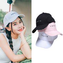 LNRRABC 1PC New Snapback Caps High Quality Black White Pink Letter Printed Women Casquette Men Adult Adjustable Baseball Cap
