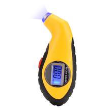 Diagnostic Tools tire pressure gauge Meter Manometer Barometers Tester Digital LCD Tyre Air For Auto Car Motorcycle Wheel New(China)