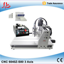 top ten selling products 6040 Z-S80 CNC router 1.5KW Ball Screw metal etching machine ,cnc metal engraving machine(China)