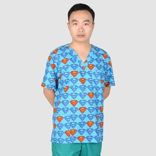 Hennar Brand unisex medical scrub top(China)