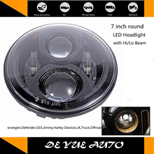 2PCS price Wrangler 07-14 headlight 7 inch 12-30V 7000K auto Led Headlamps for Jeep Wrangler(China)