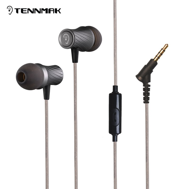 Earphones Tennmak Banjo with microphone headfree sport vs ie800 ie80 se215 se535 s530<br><br>Aliexpress