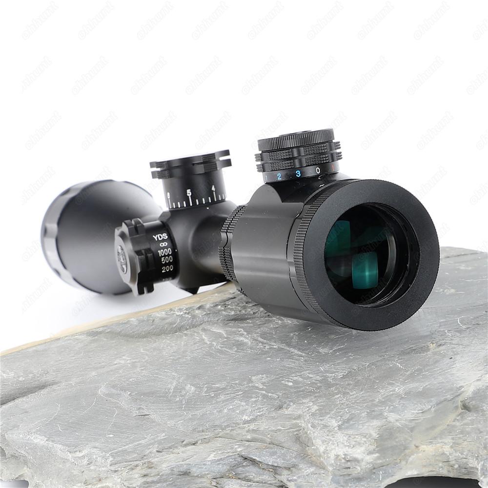 BSA Stealth Tactical STS 6-24X44 IR Hunting Optics Riflescopes Side Parallax Glass Etched Mil Dot Reticle Turrets Lock Scope (4)