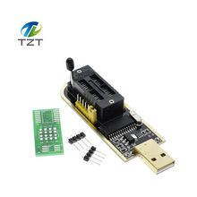 10pcs Smart Electronics CH340 CH340G CH341 CH341A 24 25 Series EEPROM Flash BIOS USB Programmer with Software & Driver(China)