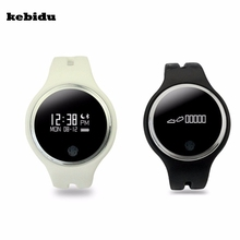 kebidu E07 Smart Watch IP67 Wrist Watches Bluetooth 4.0 Smart Wristband for iphone Android IOS Smart phone(China)