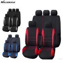 Buy MALUOKASA 9Pcs Full Set Car Seat Covers Universal Seat Covers Detail Styling Car Seat Protector Auto Interior Styling Decoration for $17.24 in AliExpress store